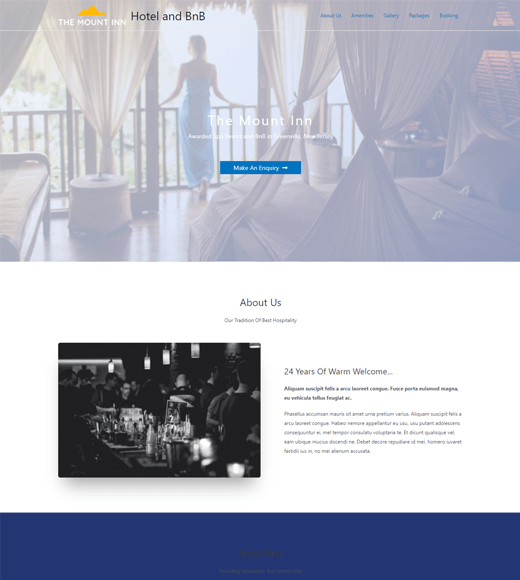 Astra Best One-Page WordPress Themes