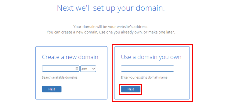 Domain Set Up