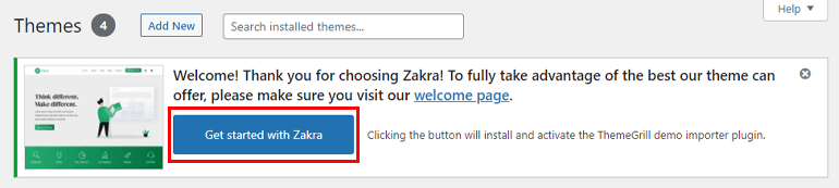 Get Started With Zakra