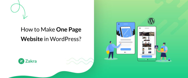 How to Make a One Page Website in WordPress? (Easy Beginner's Guide 2021)