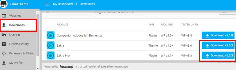 Download Zakra and Zakra Pro