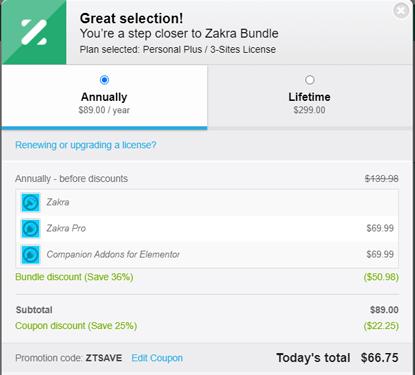 Zakra Payment