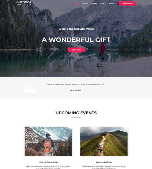 Astra Travel Blog WordPress Theme