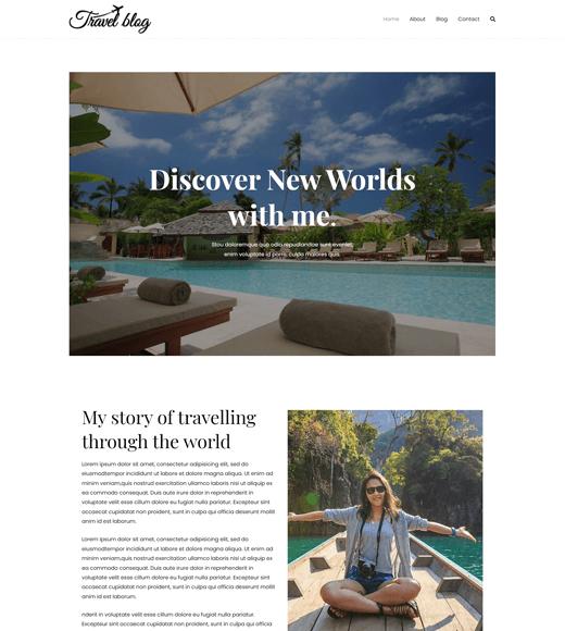 Zakra Zakra Best WordPress Themes for Travel Blogs