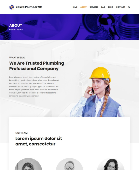 ABOUT – Zakra Plumbing Services