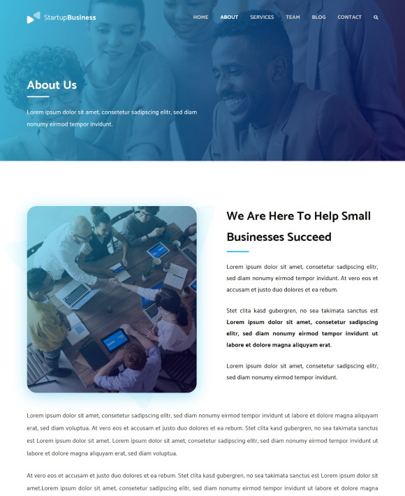 About – Startup Business