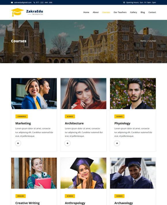 Courses – Zakra Education
