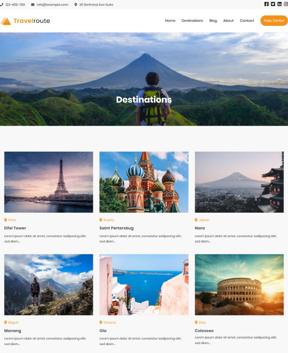 Destinations – Zakra Travel