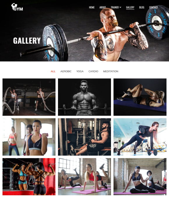 Gallery – Zakra Gym