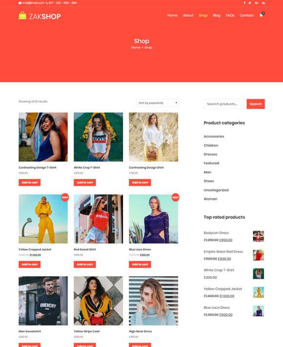 Ladies Shop Zakra 2