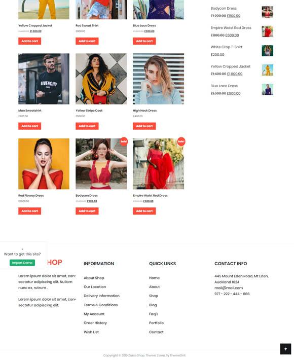 Ladies Shop Zakra 3