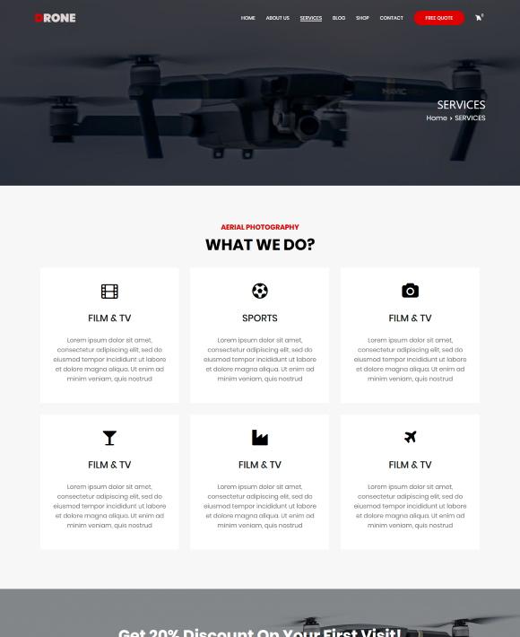 SERVICES – Zakra Drone
