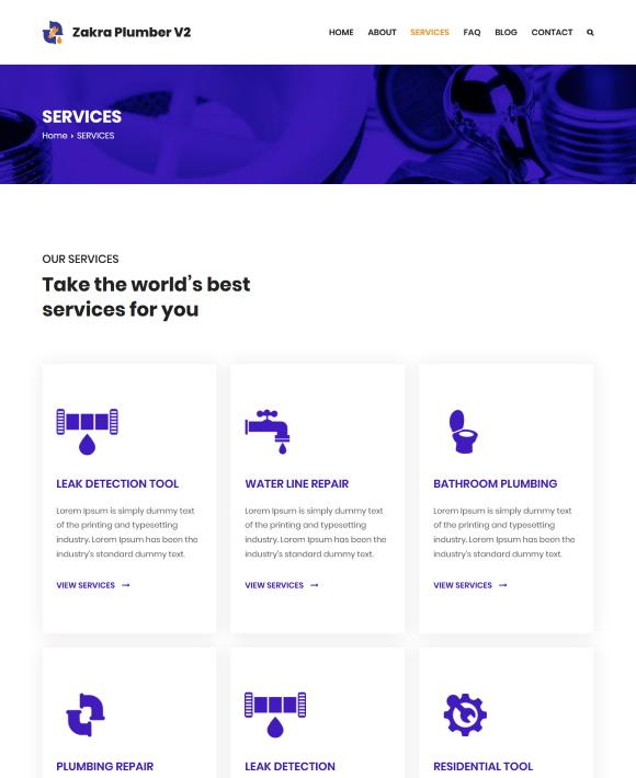 SERVICES – Zakra Plumbing Services