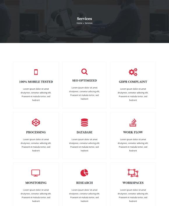 Services – Enterprise