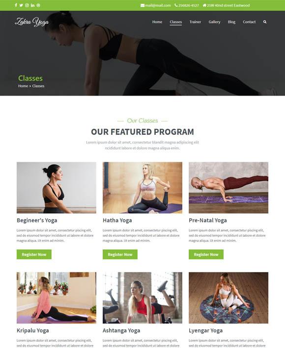 Yoga Trainer Zakra 2