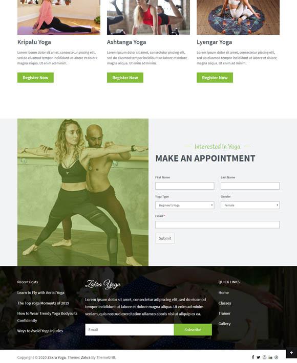 Yoga Trainer Zakra 3