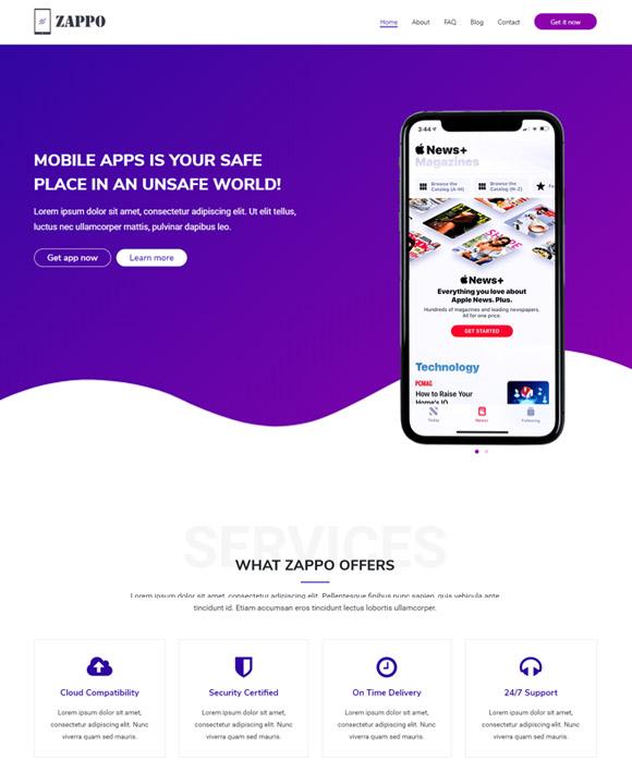 app zakra free elementor templates